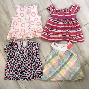 Gymboree blouses and tanks toddler girl 2T